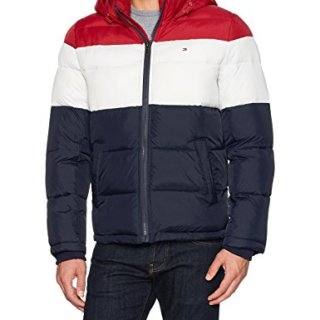 Tommy Hilfiger Men's Classic Hooded Puffer Jacket