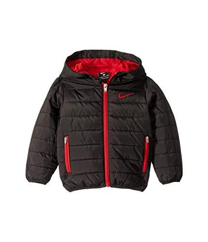 Nike Kids Baby Boy's Quilted Jacket (Toddler) Black
