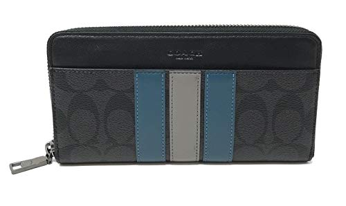 Coach Boxed Accordion Wallet Gift Set In Signature Canvas