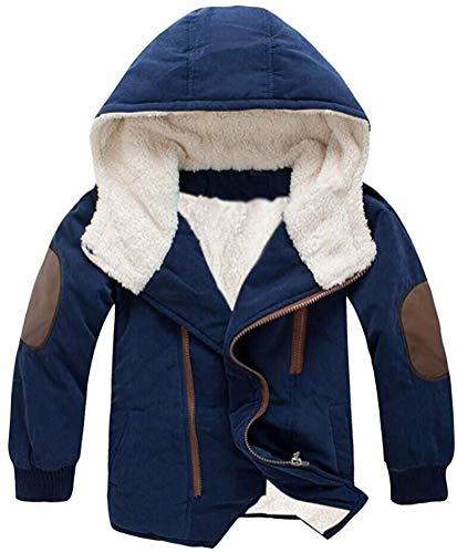 Baby Boys Girl Hooded Fleece Down Kids Outerwear Cotton-Padded Parka