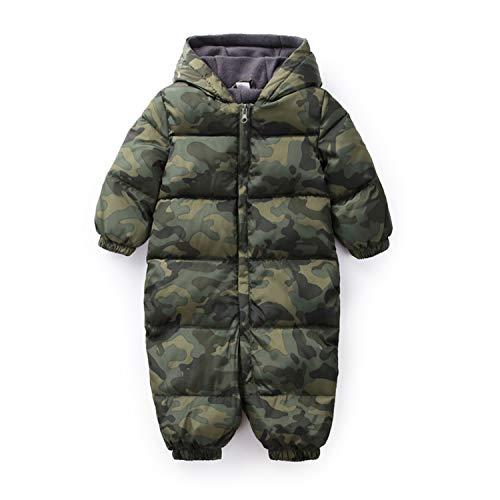 Snow Wear Cotton Warm Outerwear Coat Childrens Overalls Romper Kids