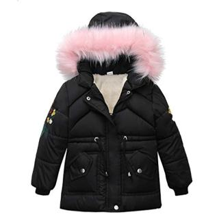 LUCKYMEN Kids Boys Girl Winter Parka Down Coat Puffer Jacket