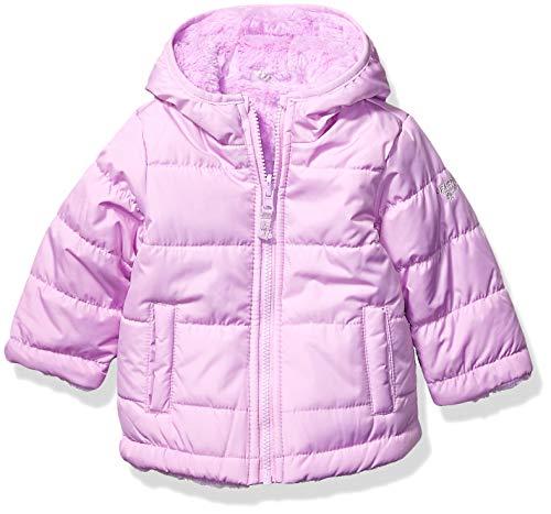Osh Kosh Baby Girls Reversible Puffer Jacket Coat