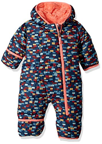 Columbia Baby Boys' Frosty Freeze Bunting, Collegiate Navy Critters