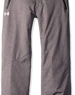 Under Armour Boys' Big Heather Rooter Insulated Pant, Carbon