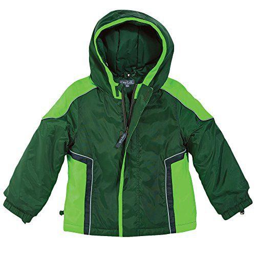 One Step Ahead Hunter Green Baby Boy Waterproof Hooded Winter Jacket