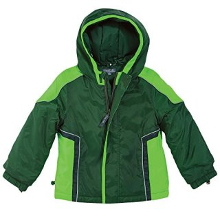 One Step Ahead Hunter Green Baby Boy Waterproof Hooded Winter Jacket
