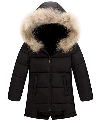 AIEOE Little Girl Boy Baby Winter Hooded Coat Down Jacket