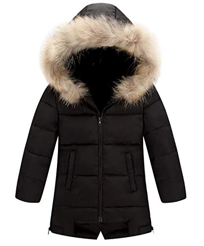 AIEOE Little Girl Boy Baby Winter Hooded Coat Down Jacket