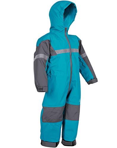 OAKI Rain Suit Kids - Toddler Snowsuit - One Piece Rain Jacket/Pant