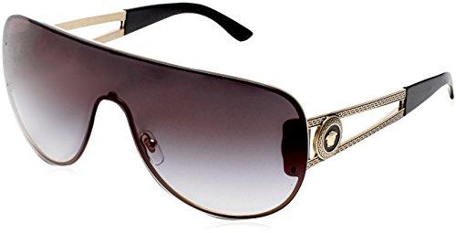 Versace Gold/Grey Sunglasses