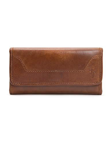 Melissa Continental Snap Wallet, Cognac