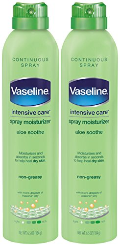 Vaseline Intensive Care Spray Moisturizer, Aloe Soothe