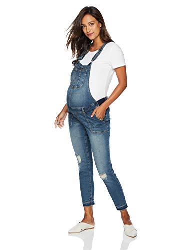 Motherhood Maternity Women's Maternity Indigo Blue Side Panel Skinny Ankle