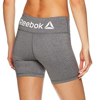 Reebok Women's Compression Running Shorts - High Waisted Performance