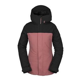 Volcom Women's Bolt Insulated Snow Jacket, Mauve, Small