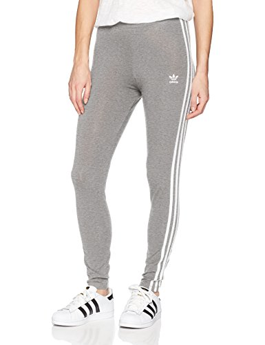 adidas Originals Women's 3 Stripes Legging, Grey Heather