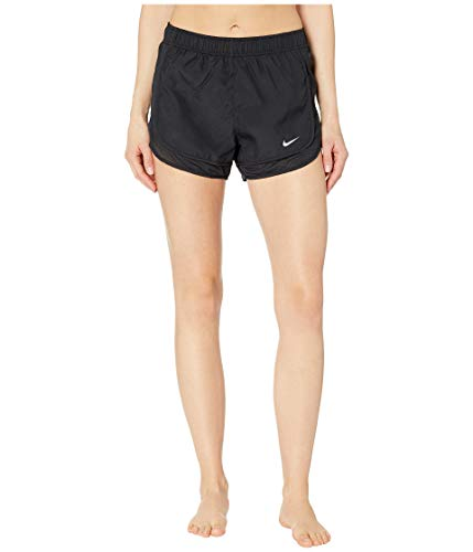 Nike Women's Tempo Running Shorts Black/Wolf Grey Size Small