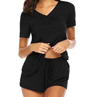 Avidlove Women's Shorts Pajama Set Short Sleeve Sleepwear Nightwear