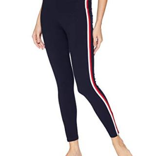 Tommy Hilfiger Women's Retro Style Hilfiger Logo Graphic Leggings Pant Lounge Pj