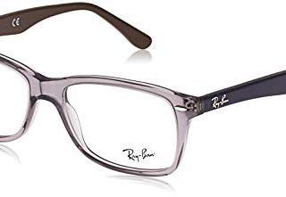 Ray-Ban Square Eyeglass Frames, Grey/Demo Lens