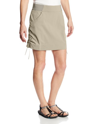 Columbia Women's Anytime Casual Skort, Tusk, Medium