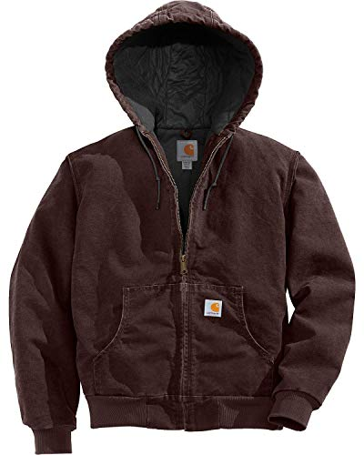 Carhartt Women's Quilted Flannel Lined Sandstone Active Jacket