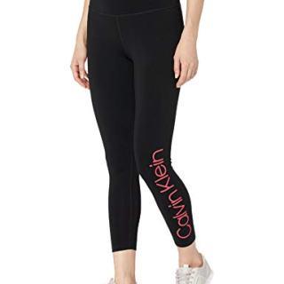 Calvin Klein Women's High Waist Solid Logo Legging, Energy Combo
