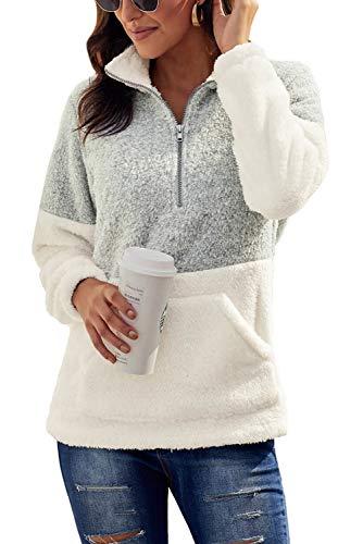 Chase Secret Womens Lightweight Sweatshirt Cozy Warm Fuzzy Fleece Pullover
