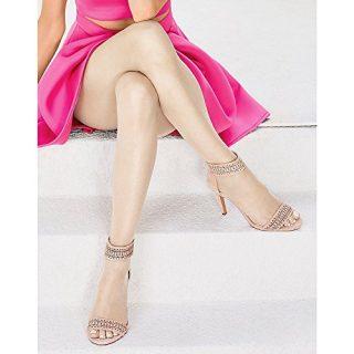 Hanes Women Set of 3 Silk Reflections Ultra Sheer Toeless Control Top Pantyhose
