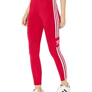 adidas Originals Women's Trefoil Tight, Scarlet, Medium