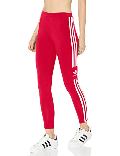 adidas Originals Women's Trefoil Tight, Scarlet, Medium