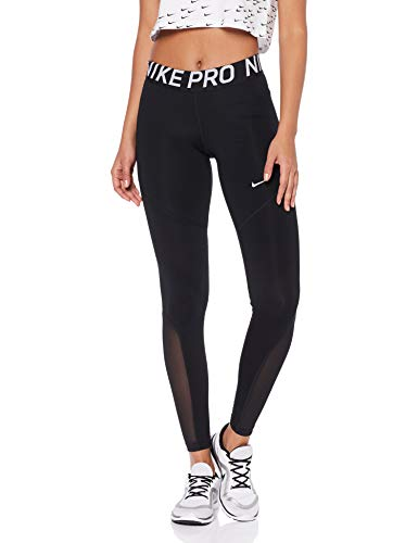 Nike Women's Pro Tights Black/White Size Small
