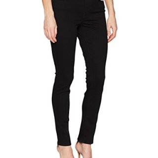 Levi's Women's Pull-On Jeans, Dark Black, 33 (US 16)
