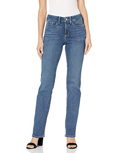 NYDJ Women's Marilyn Straight Denim Jeans, New Heyburn
