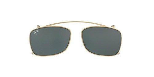 Ray-Ban Square Metal Eyeglass Frames Non Polarized Prescription Eyewear