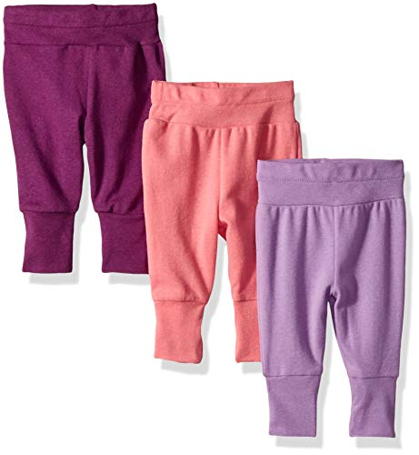 Hanes Ultimate Baby Flexy 3 Pack Adjustable Fit Knit Jogger Pants