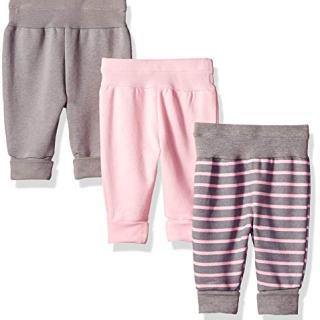 Hanes Ultimate Baby Flexy 3 Pack Adjustable Fit Fleece Joggers