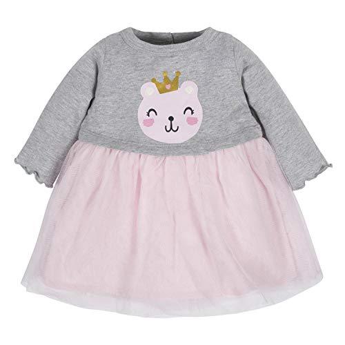 GERBER Baby Girls Dress, Gold dots