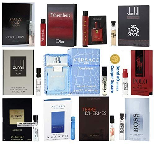 Pilestone's Selection: Men's Designer Fragrance Samples