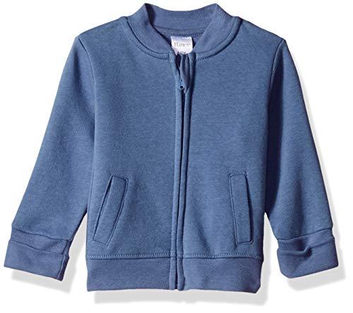 Hanes Ultimate Baby Zippin Fleece Jacket, Dark Blue