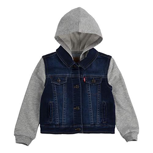 Levi's Baby Hooded Trucker Jacket, Indigo Dusk