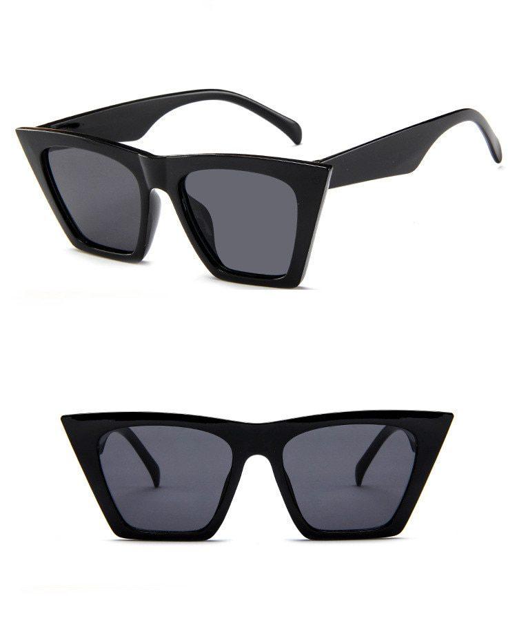 Small Cat Eye Sunglasses Women Brand Designer Vintage