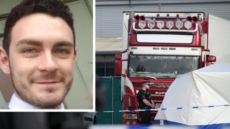 truck driver held after 39 bodies found in shipping container in essex