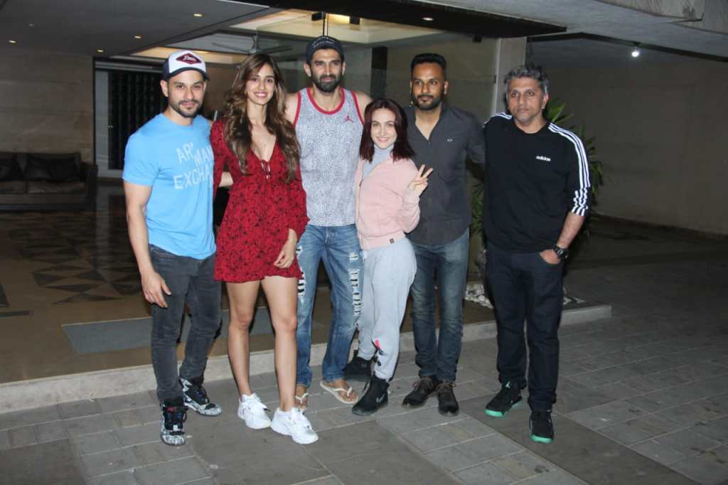 Malang Star Cast Meets For Dinner In Bandra