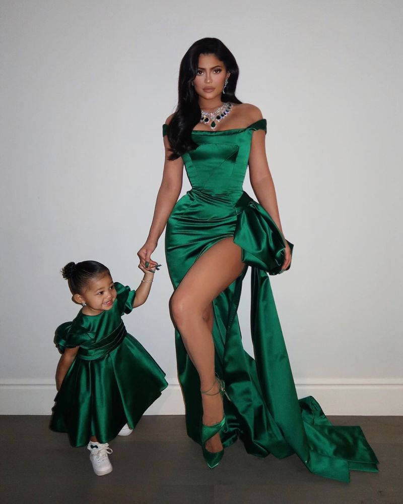 Stormi Websters Baby Album matching mama