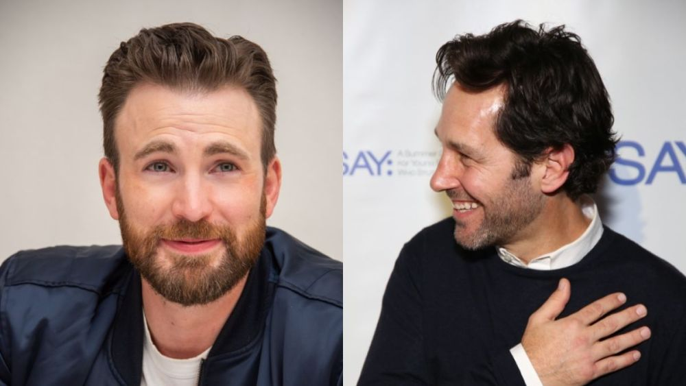 Watch Chris Evans and Paul Rudd interview one another