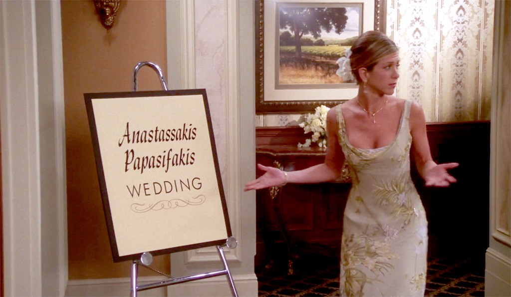 Friends Wedding Episode Included a Nod to Jennifer Aniston Family