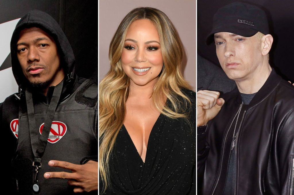 nick cannon mariah carey eminem 1
