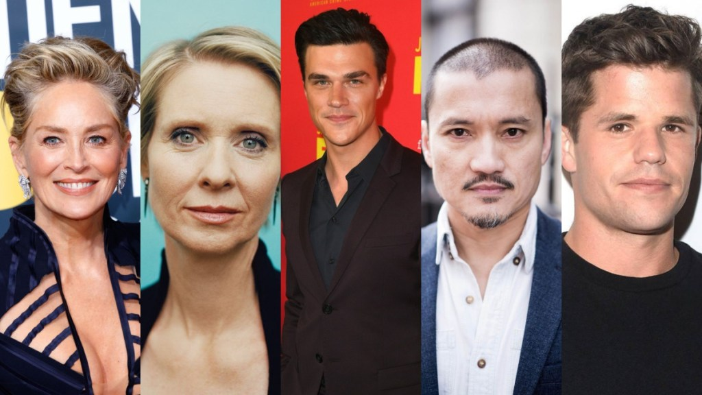 tv news ratched sharon stone cynthia nixon finn wittrock jon jon briones and charlie carver join cast for nurse ratched series at netflix